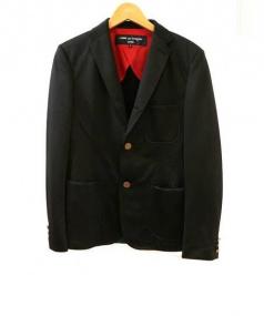 COMME des GARCONS HOMME(コムデギャルソン オム)の古着「ジャージジャケット」|ブラック