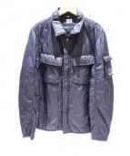 C.P COMPANY(シーピーカンパニー)の古着「中綿ジャケット」|ブラック