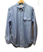 INDIVIDUALIZED SHIRTS(インディビジュアライズドシャツ)の古着「ボタンダウンシャツ」|ブルー