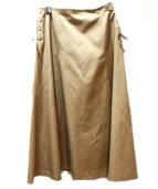 TOCCA(トッカ)の古着「BELLスカート」|ベージュ