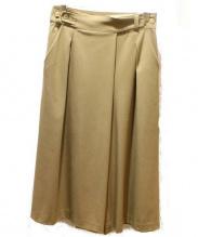 HUMAN WOMAN(ヒューマンウーマン)の古着「グルカパンツ風スカーチョ」|ベージュ