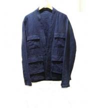 nestrobe confect(ネストローブ コンフェクト)の古着「リネンジャケット」|ネイビー