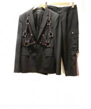 DIOR HOMME(ディオール オム)の古着「ボンテージセットアップ」|ブラック