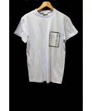 Dior HOMME(ディオールオム)の古着「ポケットTシャツ」|スカイブルー