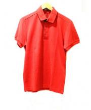 DIOR HOMME(ディオールオム)の古着「ポロシャツ」|レッド