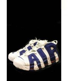 NIKE(ナイキ)の古着「AIR MORE UPTEMPO 96」|ホワイト×ブルー