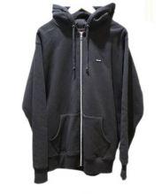 Supreme(シュプリーム)の古着「Small Box Zip Up Hooded Sweats」 ブラック