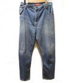 JUNYA WATANABE MAN(ジュンヤワタナベマン)の古着「再構築デニムパンツ」 ブルー