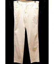 Calvin Klein(カルバンクライン)の古着「ホワイトパンツ」|ホワイト