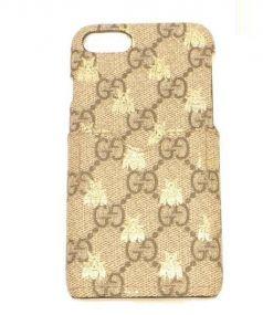 GUCCI(グッチ)の古着「GGスプリース iPhone 7 ケース」|ベージュ