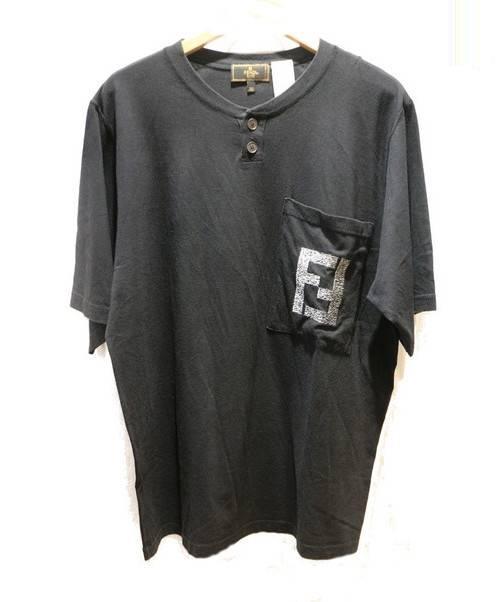 timeless design 26f45 8e93e [中古]FENDI(フェンディ)のメンズ トップス ポケットロゴ刺繍Tシャツ