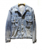 RonHerman(ロンハーマン)の古着「デニムジャケット」|ブルー