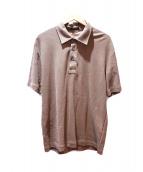 Berluti(ベルルッティ)の古着「ポロシャツ」|ベージュ