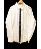 Dior Homme(ディオールオム)の古着「フロントラインシャツ」|ホワイト