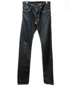 Dior Homme(ディオールオム)の古着「デニムパンツ」|ネイビー