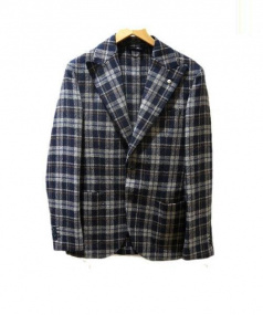 L.B.M.1911(エルビーエム1911)の古着「テーラードジャケット」 ネイビー
