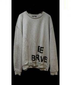 DIESEL(ディーゼル)の古着「BE BRAVE クルーネックスウェット」