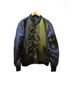 DIESEL(ディーゼル)の古着「J-GUSTER JACKET」|ネイビー×カーキ