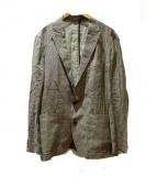JOSEPH ABBOUD(ジョセフアブード)の古着「テーラードジャケット」|グレー