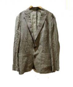 JOSEPH ABBOUD(ジョセフアブード)の古着「テーラードジャケット」 グレー