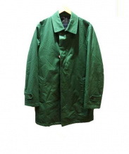 SANYO(サンヨー)の古着「ライナー付ステンカラーコート」|グリーン
