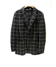 TOMORROWLAND(トゥモローランド)の古着「テーラードジャケット」 グレー