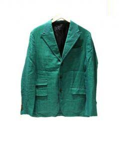 Salvatore Piccolo(サルヴァトーレ・ピッコロ)の古着「テーラードジャケット」 スカイブルー