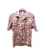 ISAMU KATAYAMA BACKLASH(イサムカタヤマ・バックラッシュ)の古着「半袖総柄シャツ」|イエロー