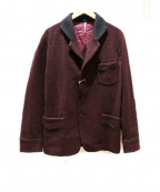 ms braque(エムズ ブラック)の古着「テーラードジャケット」 レッド