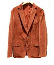 BOGLIOLI(ボリオリ)の古着「COAT」|オレンジ