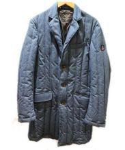 FIDELITY(フェデリティー)の古着「ダウンチェスターコート」 ブルー