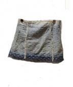 LOUIS VUITTON(ルイ・ヴィトン)の古着「デニムスカート」|インディゴ