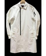 BLACK LABEL CRESTBRIDGE(ブラックレーベルクレストブリッジ)の古着「シンサレートテクニカルコート」|ホワイト