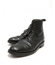 GRENSON(グレンソン)の古着「ストレートチップブーツ」|ブラック