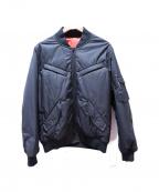 BACK CHANNEL(バックチャンネル)の古着「リバーシブルMA-1ジャケット」