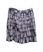 Emilio Pucci(エミリオプッチ)の古着「プリーツスカート」|ブラック×ホワイト