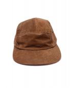 Hender Scheme(エンダースキーマ)の古着「water proof pig jet cap」|ブラウン