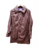 THE NORTH FACE PURPLE LABEL(ザノースフェイス パープルレーベル)の古着「5/35ステンカラーコート」|ブラウン