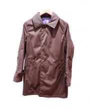 THE NORTH FACE PURPLE LABEL(ザノースフェイス パープルレーベル)の古着「5/35ステンカラーコート」 ブラウン