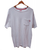 Supreme(シュプリーム)の古着「pocket tee」|ホワイト
