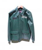 ROTAR(ローター)の古着「レザージャケット」|グリーン