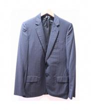 Dior Homme(ディオールオム)の古着「セットアップスーツ」|ブラック×ブルー