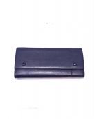 CELINE(セリーヌ)の古着「ラージフラップ長財布 」|ネイビー