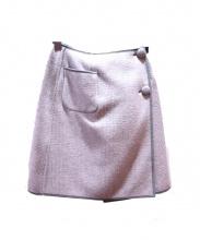 MS GRACY(エムズグレイシー)の古着「ウールラップスカート」
