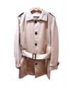 BURBERRY LONDON(バーバリー ロンドン)の古着「ノヴァチェックライナー付ステンカラーコート」|ベージュ