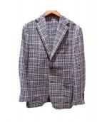 RING JACKET(リングジャケット)の古着「チェックジャケット」|ブラウン
