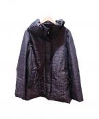 HANAE MORI(ハナエモリ)の古着「ダウンジャケット」 ブラウン