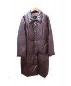 DAKS(ダックス)の古着「ステンカラーダウンコート」|ブロンズ
