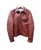 AERO LEATHER(エアロレザー)の古着「ホースハインドジャケット」
