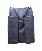 CELINE(セリーヌ)の古着「ジップスカート」